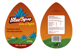 Blue Syrup Label – Adviee